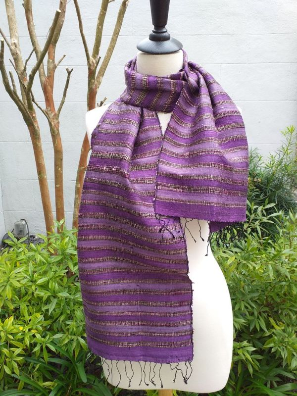 NND505E SEAsTra Fairtrade Silk Scarves