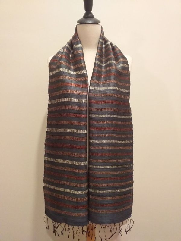NND572A SEAsTra Fair Trade Silk Scarf