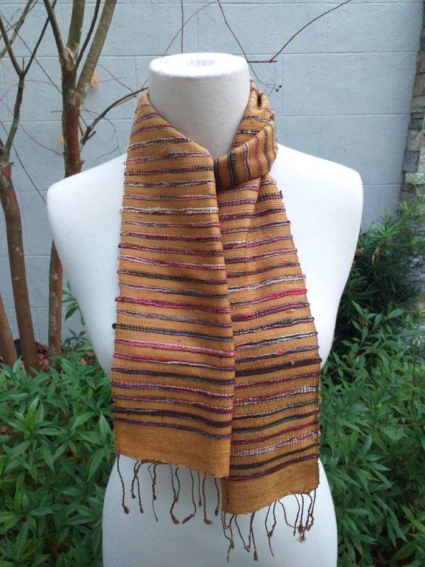 NSC327C SEAsTra Fair Trade Silk Scarf