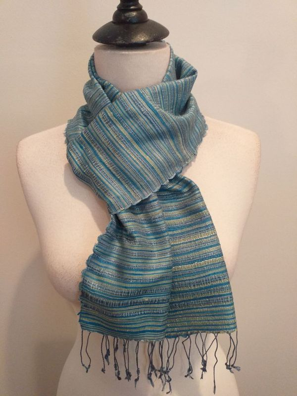 NSC555D SEAsTra Handwoven Silk scarf