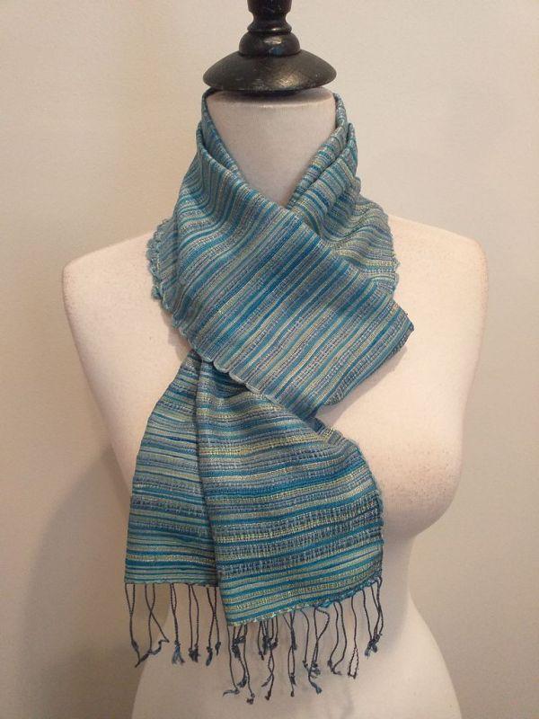 NSC555E SEAsTra Handwoven Silk scarf