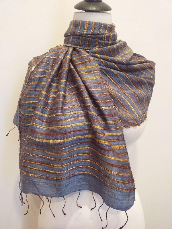 NSD002E SEAsTra Fairtrade Silk Scarf