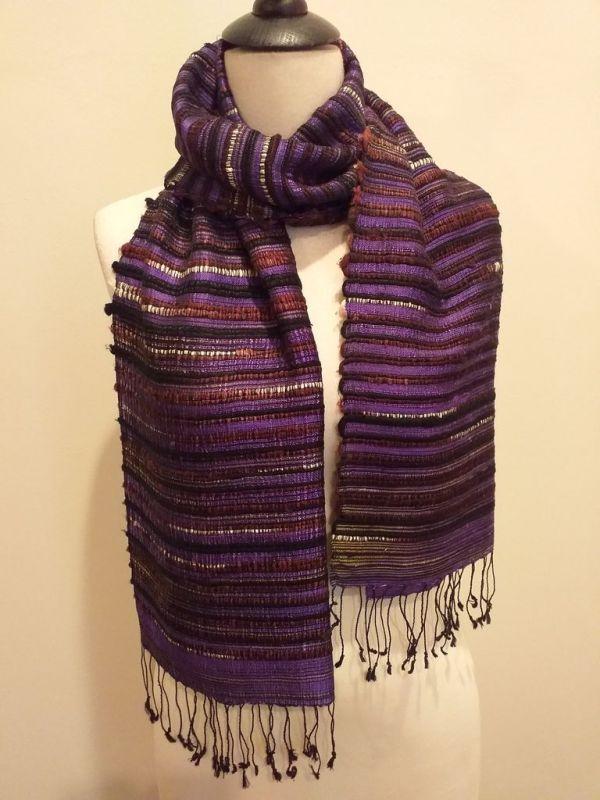 NSD047B SEAsTra Fairtrade Silk Scarf