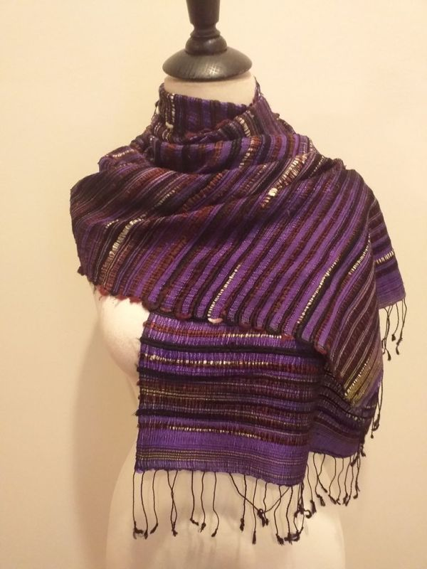 NSD047E SEAsTra Fairtrade Silk Scarf