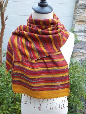 NSD203A SEAsTra Thailand Silk Scarves