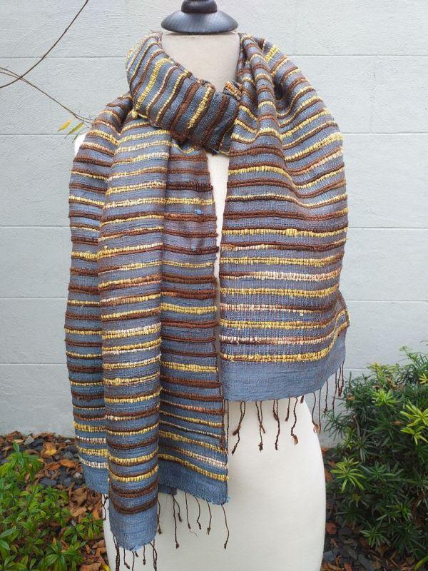 NSS002B SEAsTra Fair Trade Silk Scarf