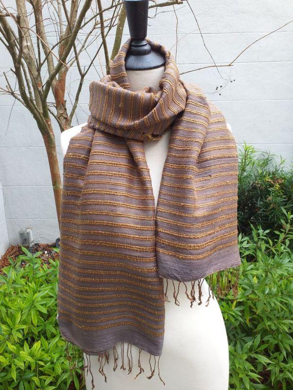 NSS405B SEAsTra Fair Trade Silk Scarf