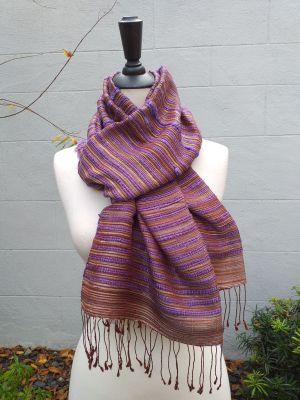 NSS605D SEAsTra Fair Trade Silk Scarf
