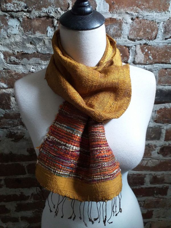 NTC030B SEAsTra Handwoven Silk Scarves