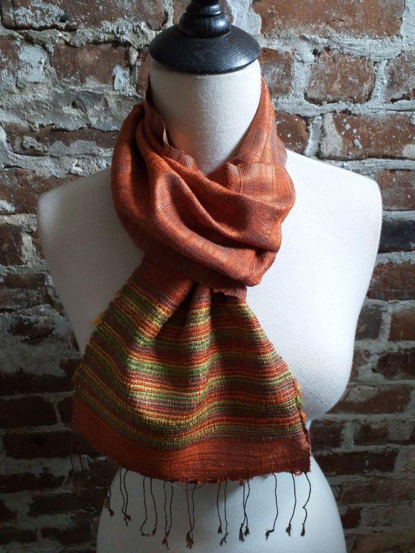 NTC034B SEAsTra Handwoven Silk Scarves