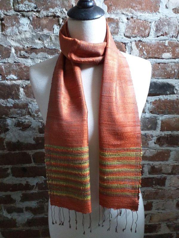 NTC034C SEAsTra Handwoven Silk Scarves