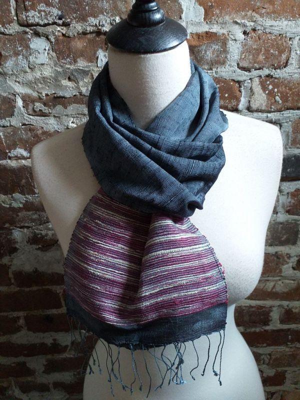 NTC091B SEAsTra Handwoven Silk Scarves