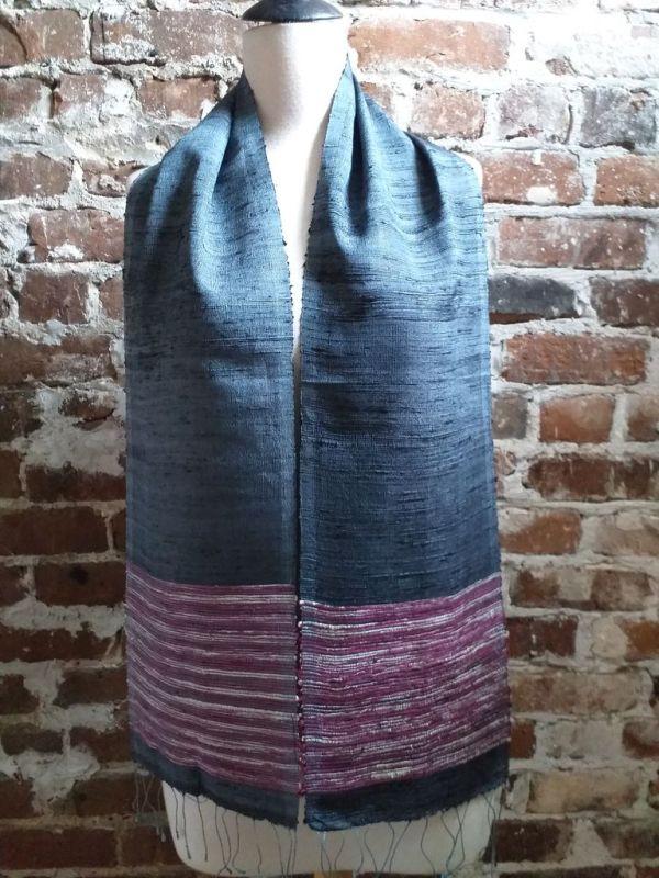 NTC091E SEAsTra Handwoven Silk Scarves