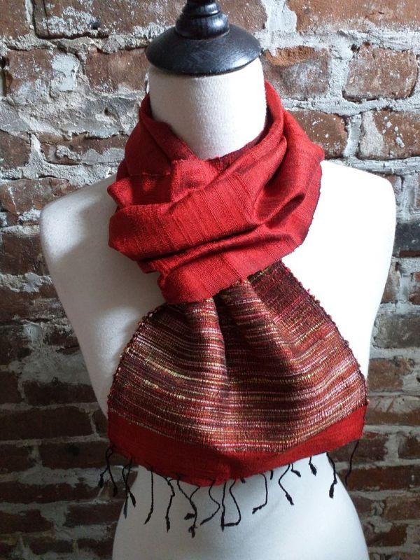 NTC103A SEAsTra Handwoven Silk Scarves
