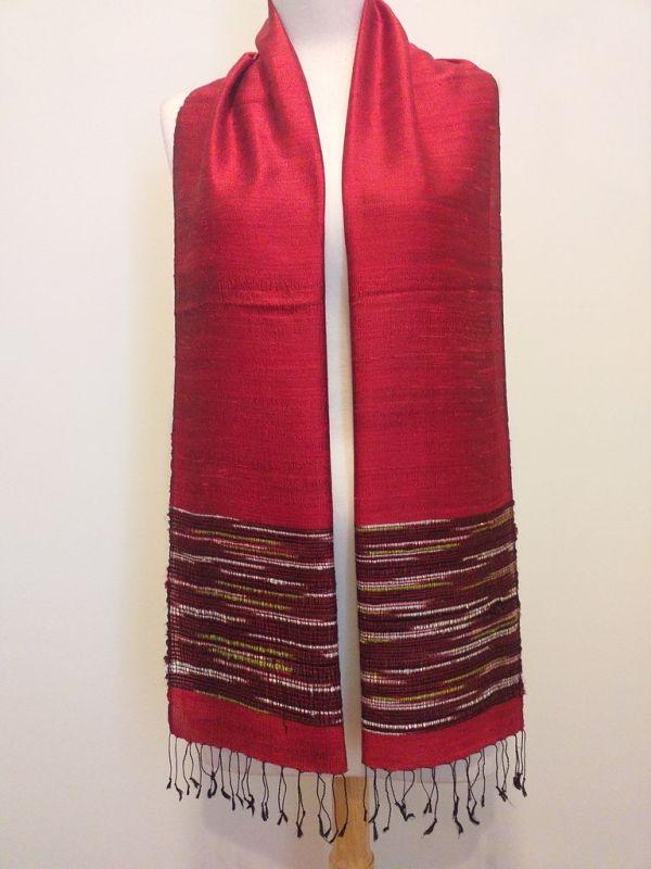 NTD103A SEAsTra Thailand Silk Scarf