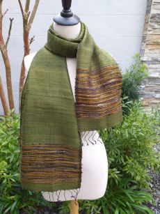 NTD139E SEAsTra Handwoven Silk Scarves