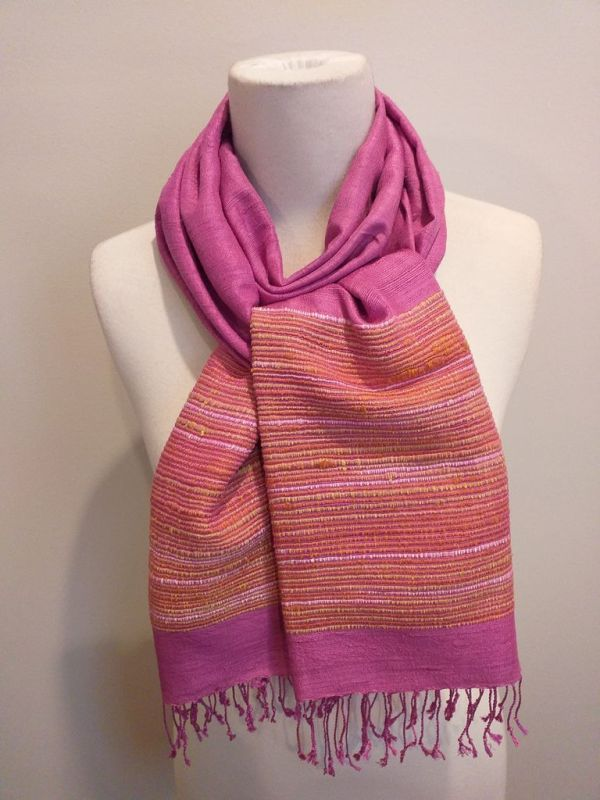 NTS177D SEAsTra Handwoven Silk Scarf