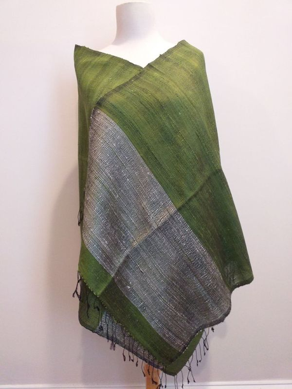 NTS551A SEAsTra Handwoven Silk Scarf