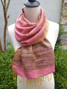 NTS720B SEAsTra Handwoven Silk Scarves