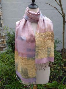 NTS751E SEAsTra Handwoven Silk Scarves