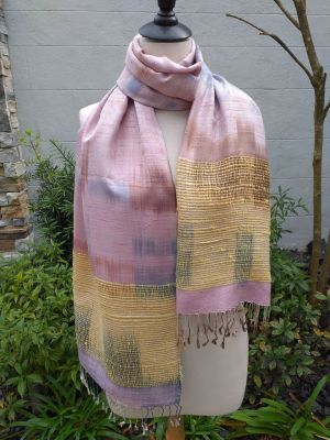 NTS751E SEAsTra Handwoven Silk Scarves