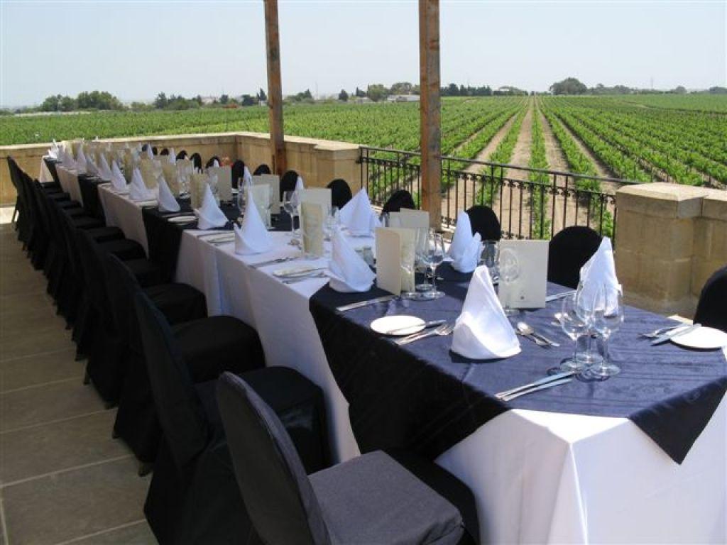 Dinner at Meridiana Wine Estate