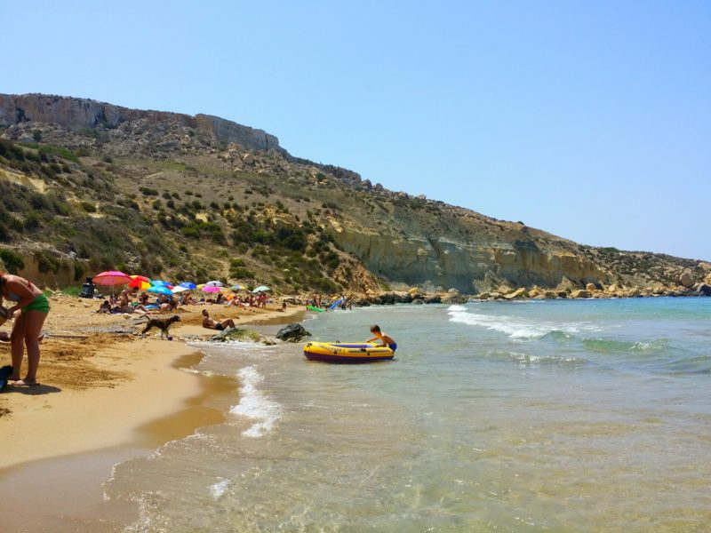 Things to do - secluded beaches in Malta