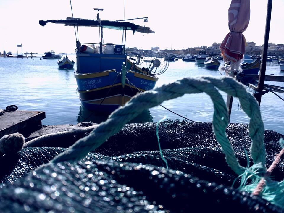 Marsaxlokk fishing Trawler Malta