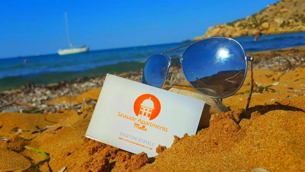 Seaside Apartments Malta business card