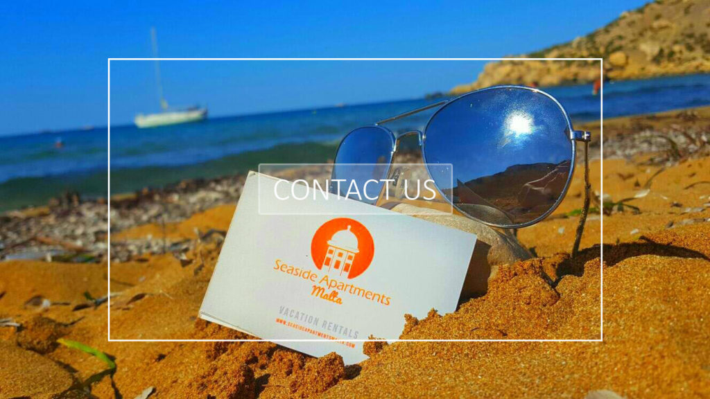 Business Card Seaside Apartments Malta