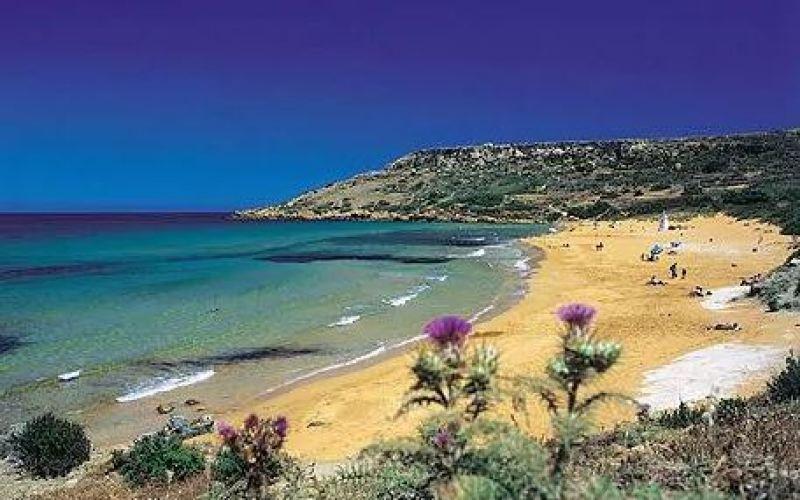 Rambla Bay in Gozo - Island of Calypso