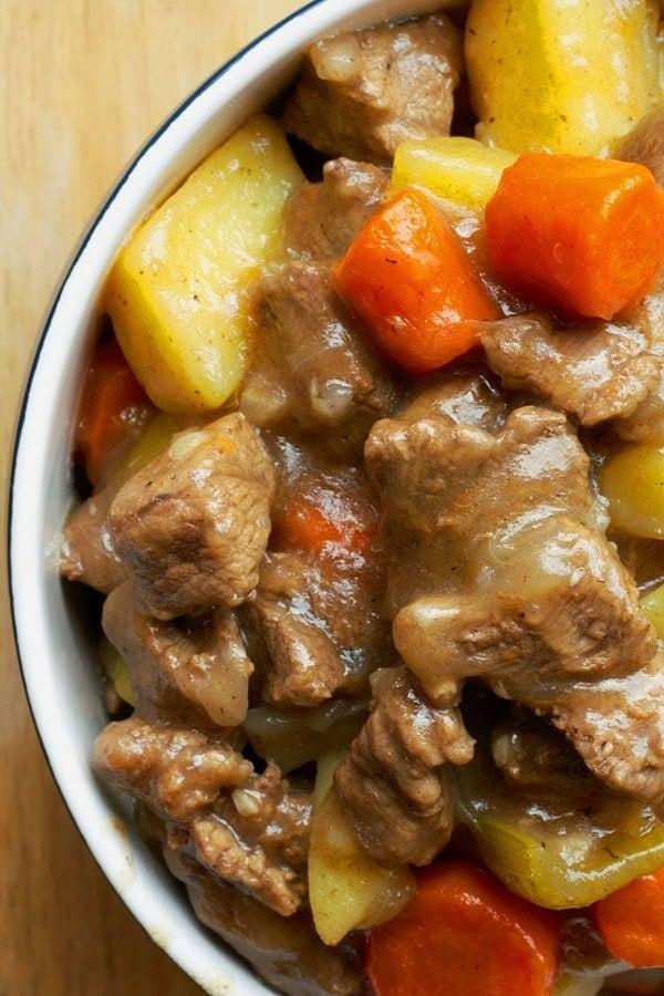 Beef Stew via @seasiderecipes
