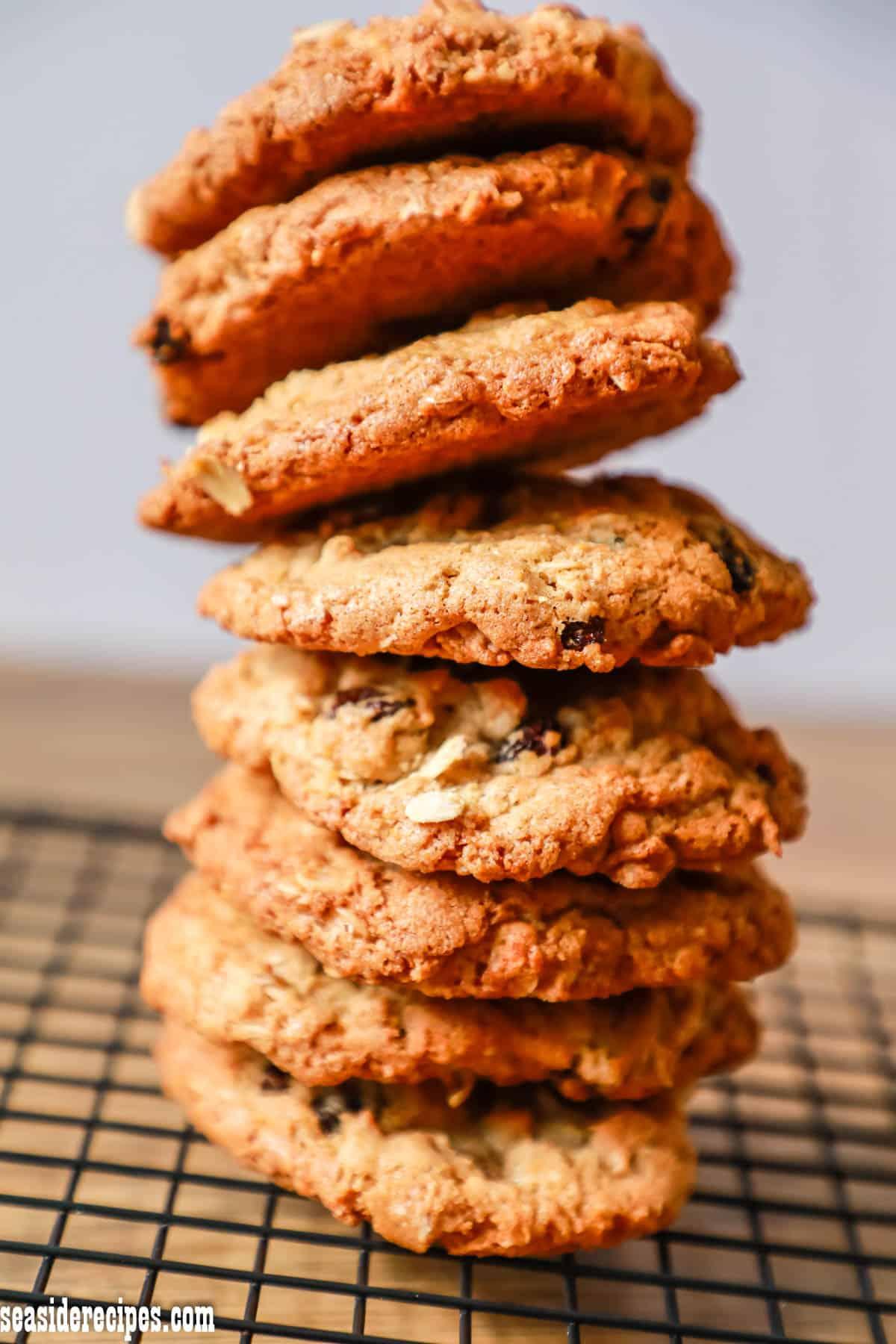 Oatmeal Raisin Cookies via @seasiderecipes