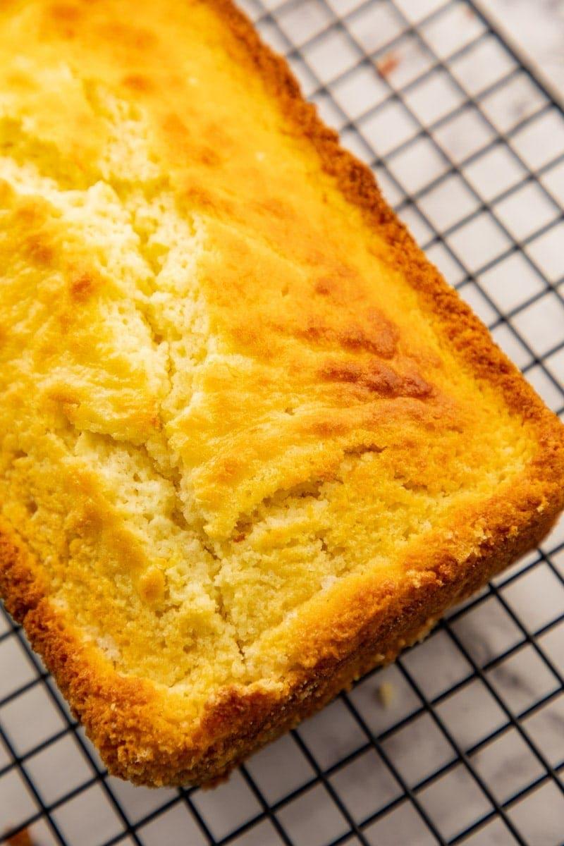 Lemon Pound Cake for dessert. You will love the fresh lemon taste of the cake. #lemoncakerecipes #lemonrecipes via @seasiderecipes