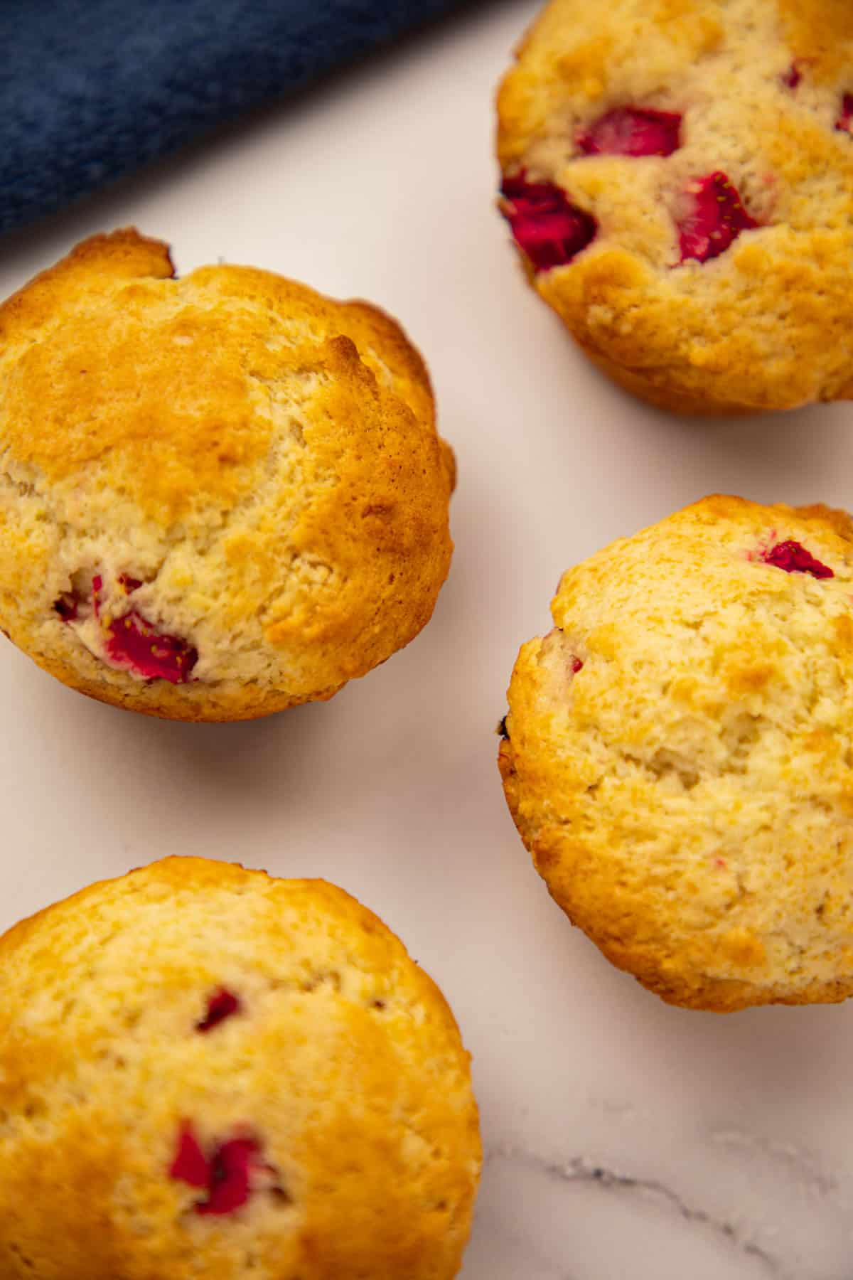 Strawberry Muffins via @seasiderecipes
