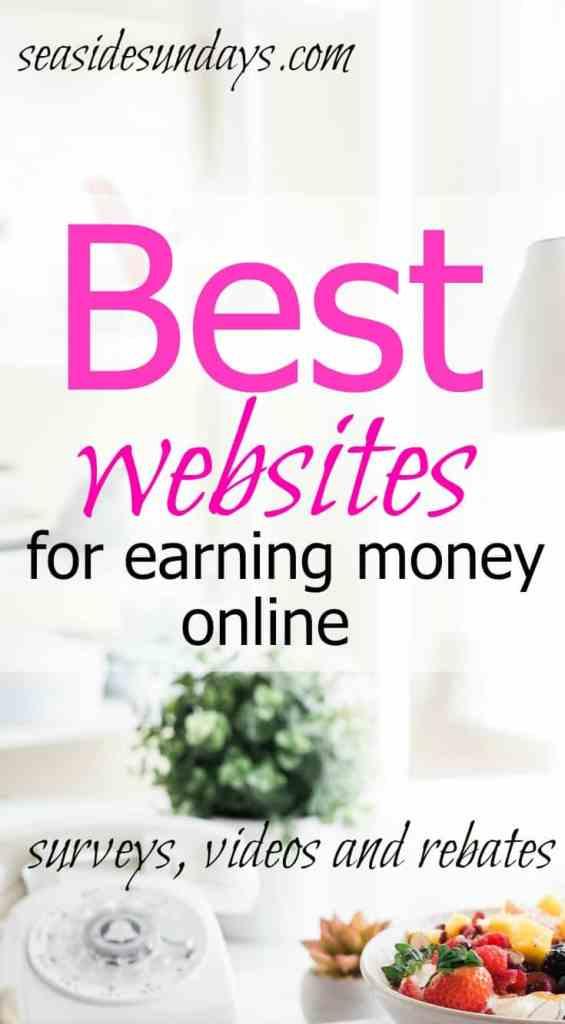 The best websites for earning money online via www.seasidesundays.com
