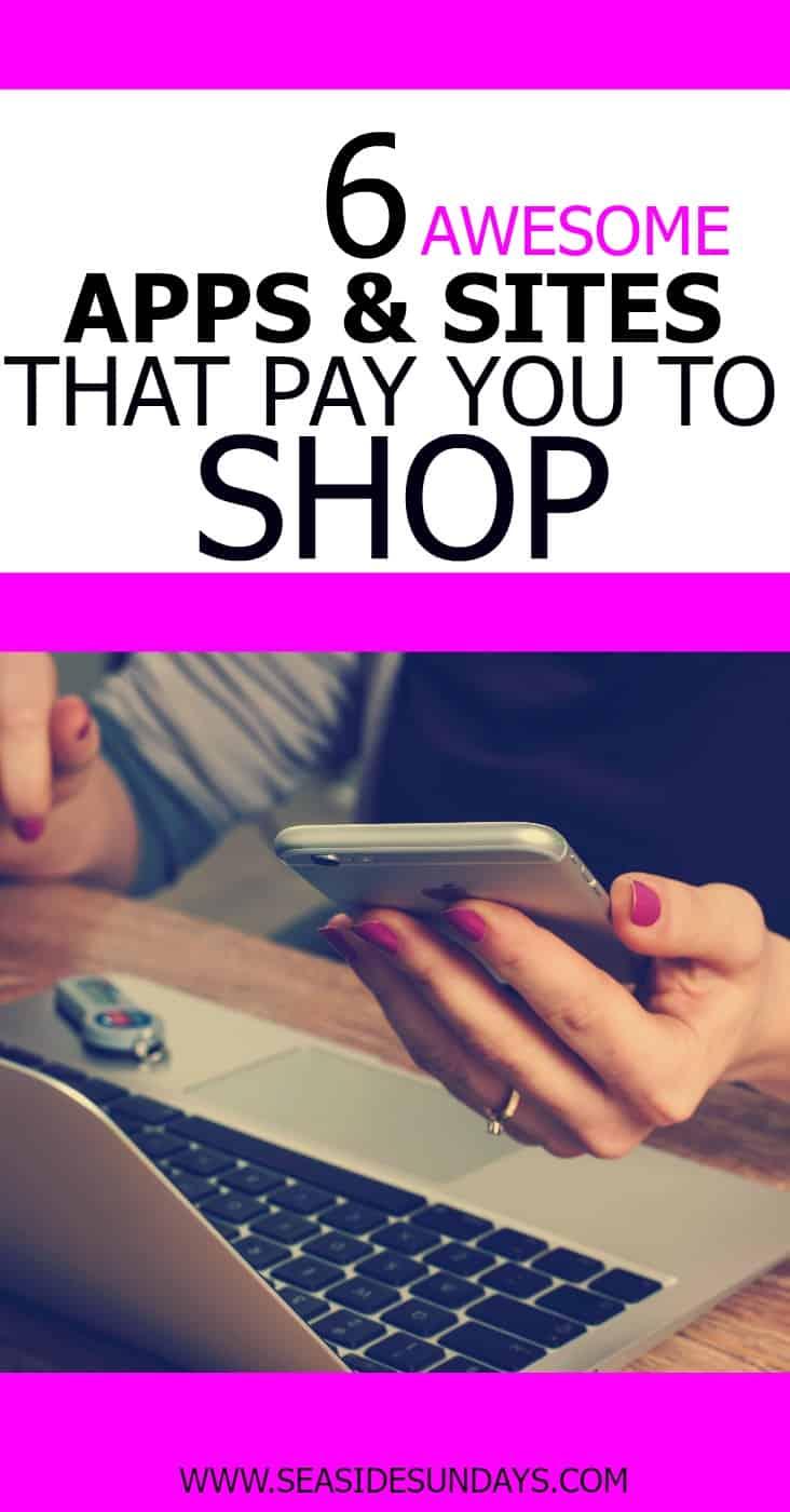 get paid to shop   make money online   cash back apps   ebates   befrugal