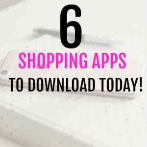 6 Awesome Apps that pay you to Shop