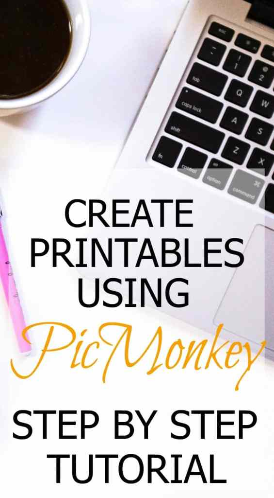 Looking for a guide on how to make printables for free? Do you want to sell printables on Etsy? Make money online by using this tutorial to create printables you can give away on your blog or sell. Make printables for easily using PicMonkey. Use them for nursery decoration, parties or to sell at craft fairs and online.This is a great way to make extra money for SAH moms and students. Learn how to make printables without Photoshop.#makemoneyonline #picmonkey