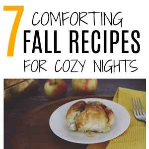 7 Fall Recipes to keep you cozy all season long!