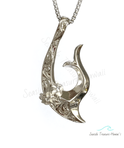 silver womens hawaiian fishhooks