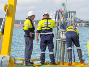 Gladstone Harbour shipping channel survey
