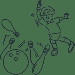 今日は何の日?【ボウリングの日】| Season Stock Iroha
