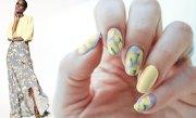 fashion nails zac posen iris spring