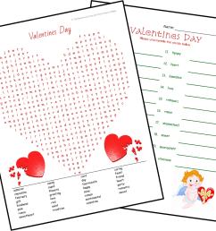 Valentine's Day Activities [ 965 x 1157 Pixel ]