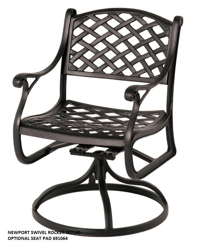 newport rocking chair cover rentals ocala fl seasonal concepts swivel rocker from hanamint