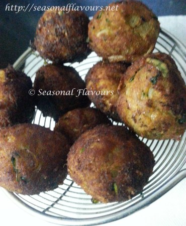 Fried Macher Kofta Balls for Bengali Kofta Curry Recipe