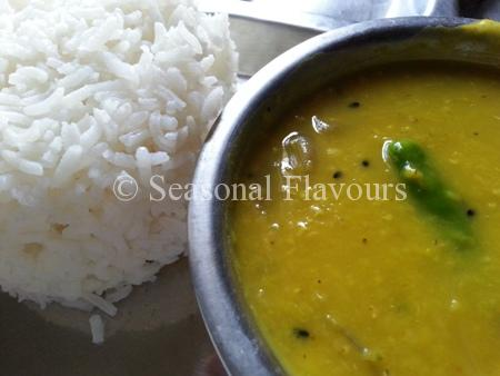Malka Split Red Lentils Dal With Onions Recipe