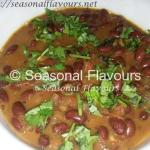 Punjabi Red Kidney Beans Recipe