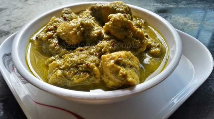 Nilgiri Chicken Recipe